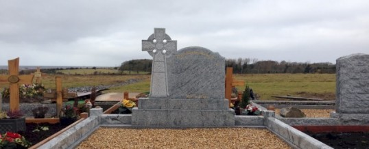 Headstone Erected Recently